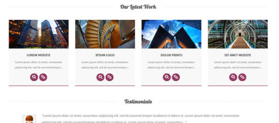 Portfolio bootstrap templates 5 free attractive design ginva for Bootstrap portfolio templates free