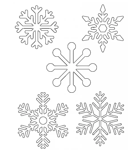 40 Snowflake Templates Vectors Patterns And Photos Ginva Stunning Free Printable Stencil Patterns