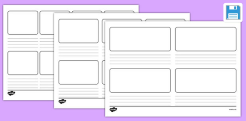 Story Lines Storyboard Templates