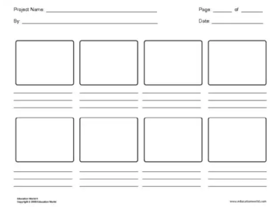 Storyboard template pdf 16 9 story board template to the point 150 free storyboard templates pdf doc psd ginva saigontimesfo