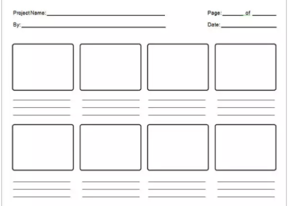 16 Storyboard Templates To Download For Free