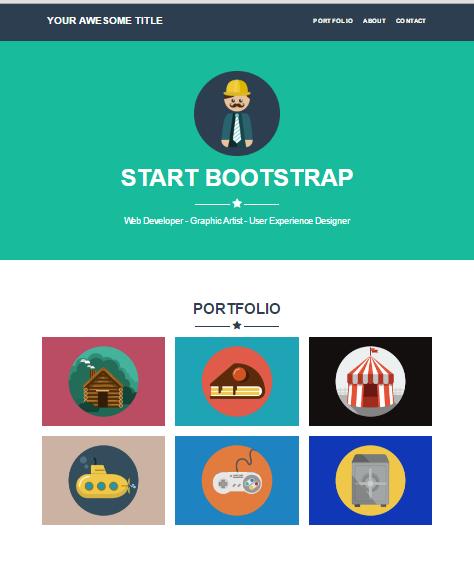 Freelancer Jekyll Portfolio Bootstrap theme