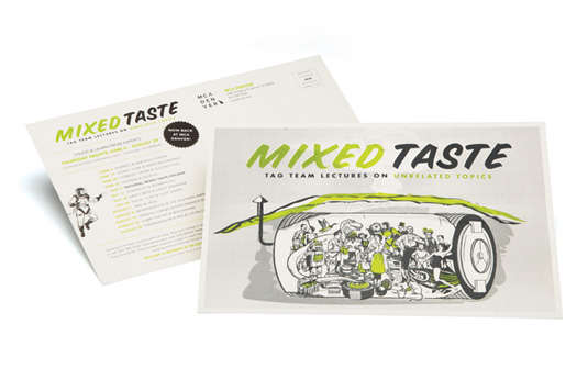 mixed _taste _pamphlet _design