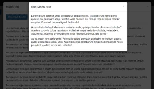 React modal bootstrap