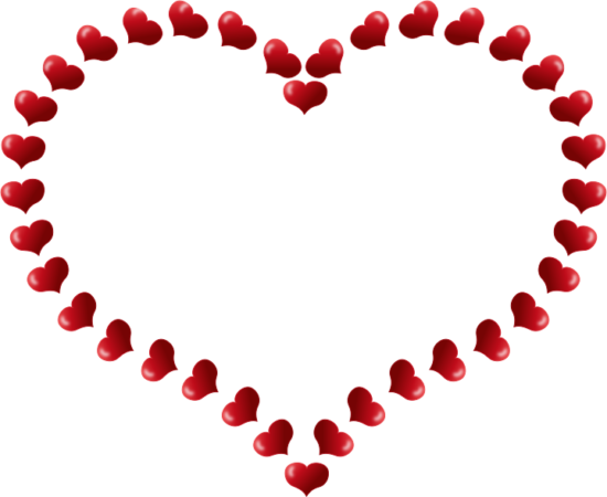pixabella_red_heart_shaped_border_with_little_hearts