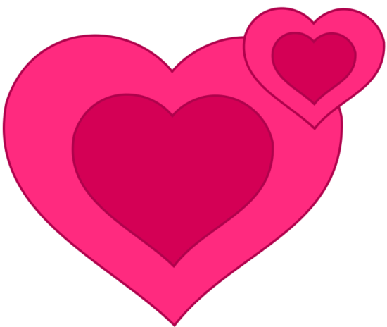 pixabella_two_pink_hearts_together