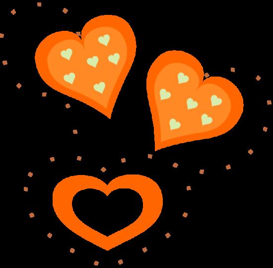 pixabella_valentine_orange_hearts