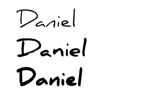 daniel_handwriting_font