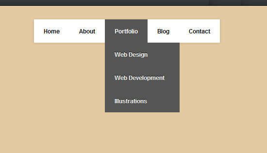 simple_yet_amazing_dropdown_menu_in_pure_css3