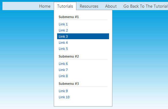 clickaction_css3_dropdown_menu
