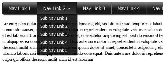 dropdown_nav_menu_with_html5,_css3_and_jquery