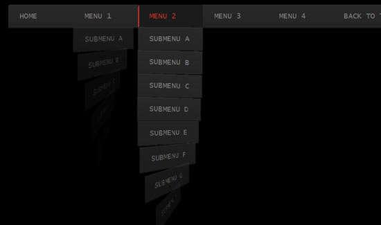 whirling_css3_dropdown_menu