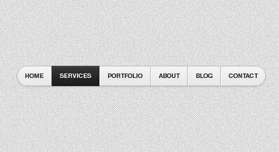 html5css3_gray_navigation_menu