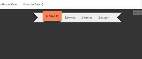 hover_effect_css3_ribbon_menu