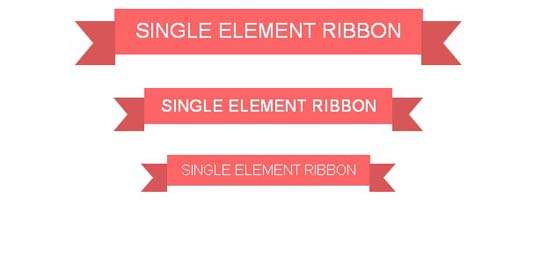 single_element_css_ribbon