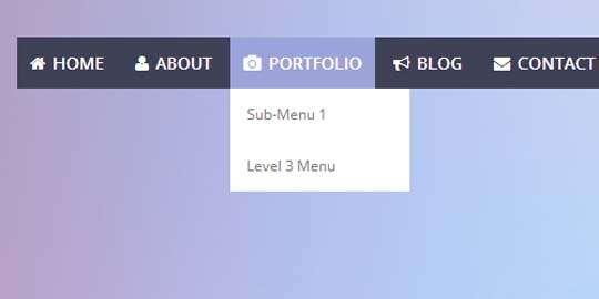 responsive_multilevel_flat_menu