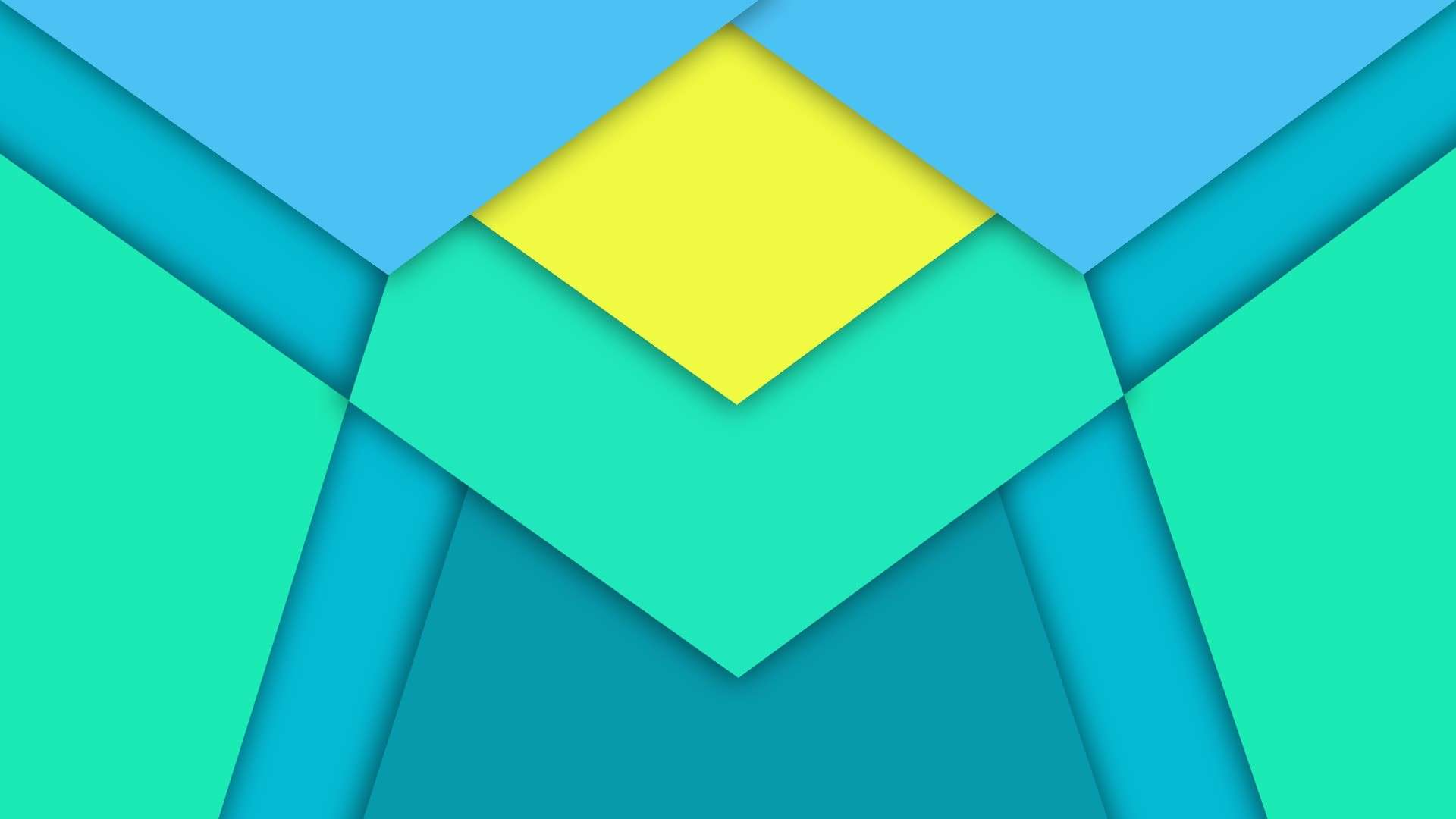 1920x1080 minimalism triangle diamonds material design
