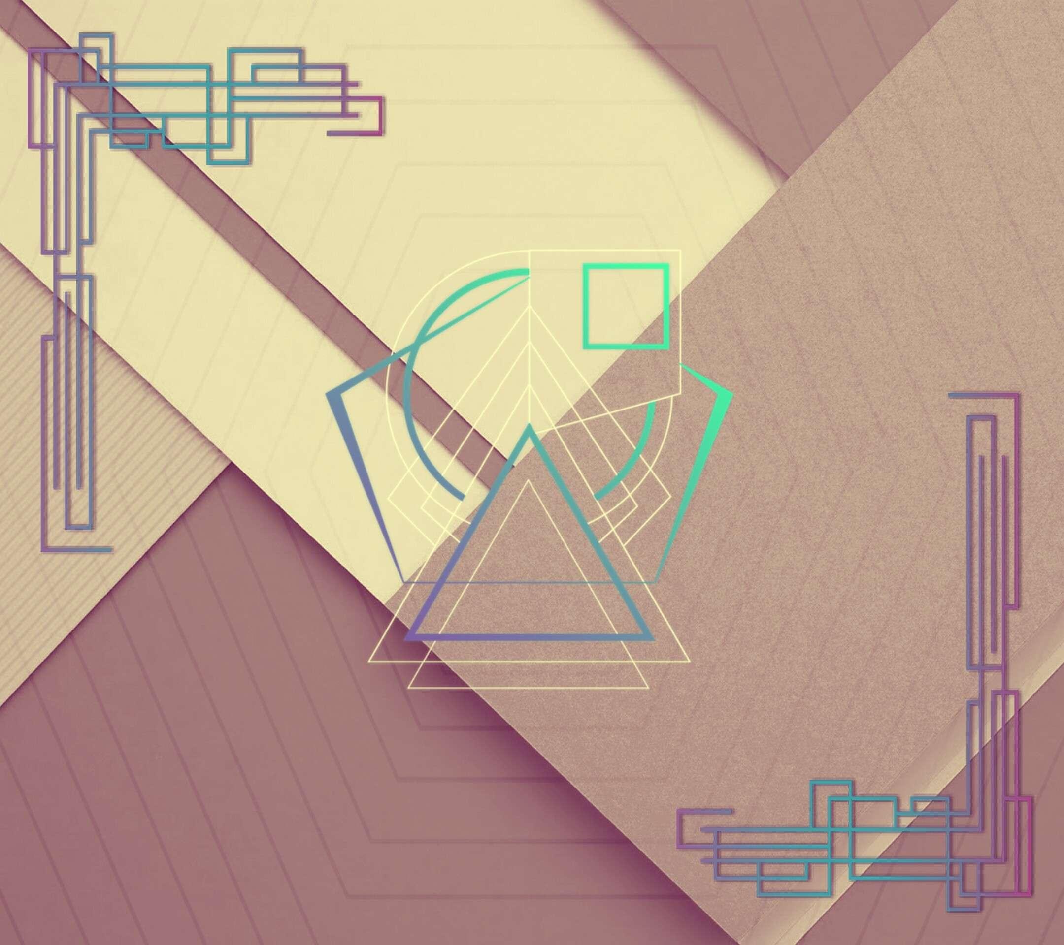 2160x1920 minimalism material style pattern