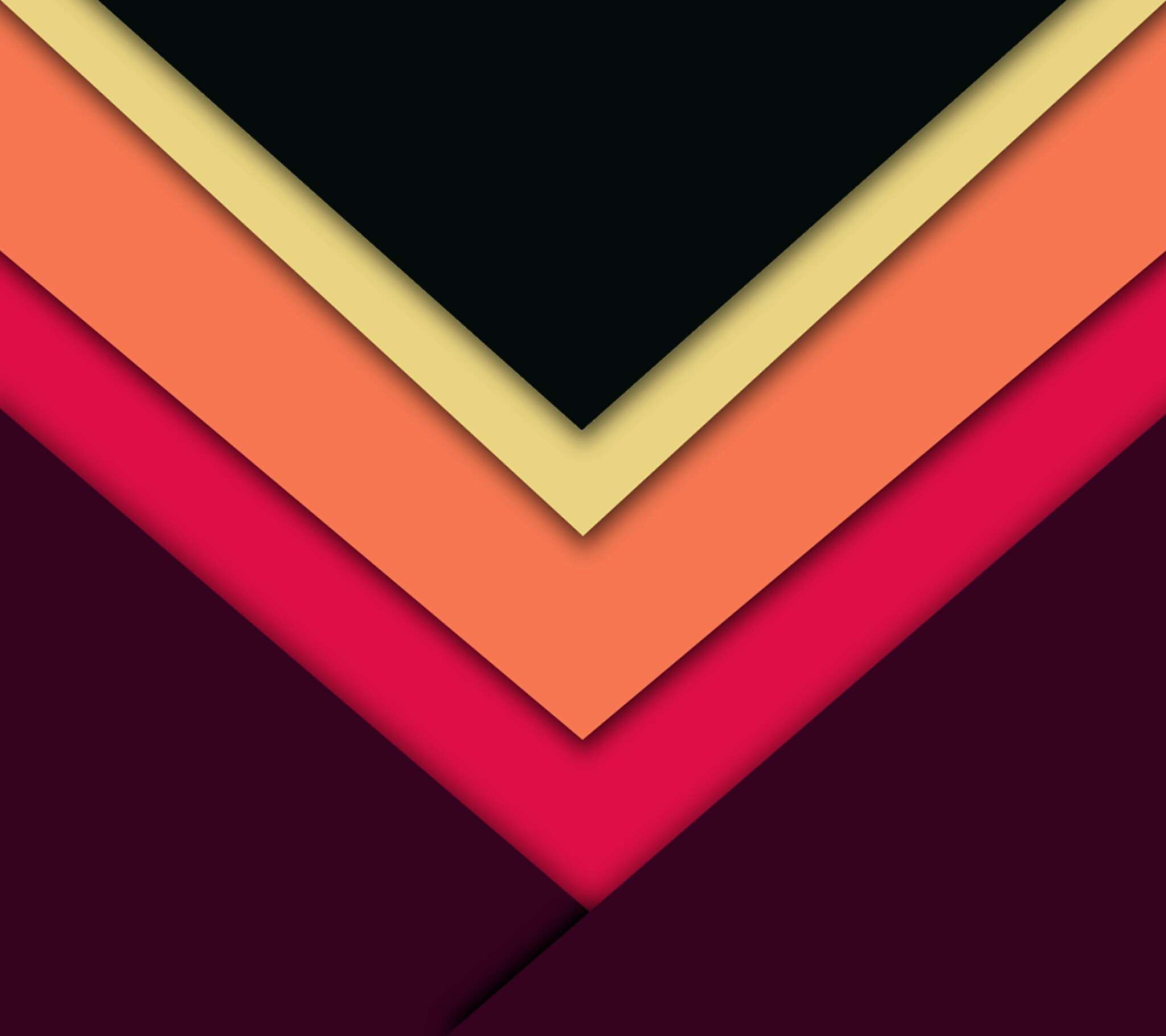 2048x1820 down arrow material style wallpaper