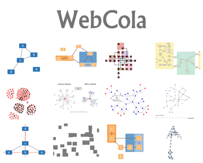 webcola_javascript_constraintbased_graph_layout