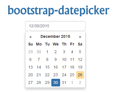 bootstrap_datepicker