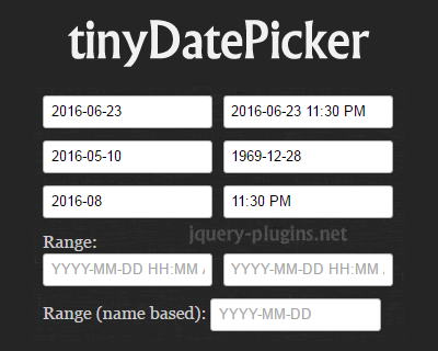 tinydatepicker_tiny_datetime_picker_and_calendar
