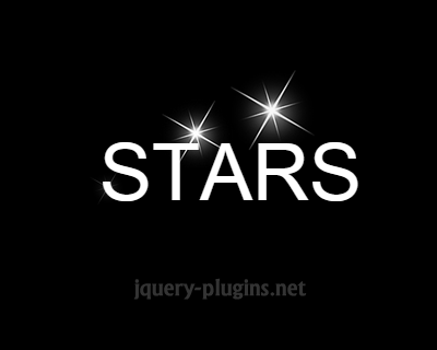 jquery_star_flashing_effect