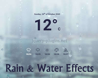 rain_water_effect_experiments