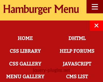 jquery_hamburger_icon_menu