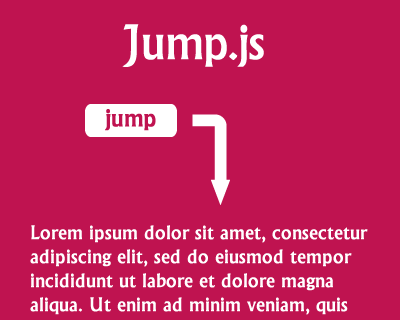 jump.js_smooth_scrolling_library