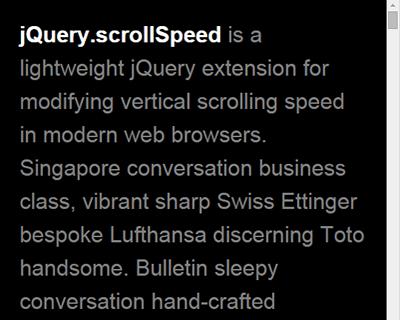 jquery.scrollspeed_modify_vertical_scrolling_speed