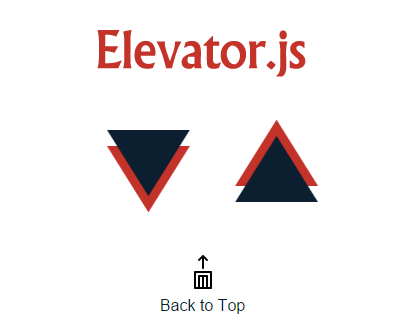 elevator.js_back_to_top_button_that_behaves_like_real_elevator