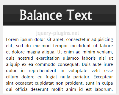balance_text_jquery_plugin_for_text_wrapping