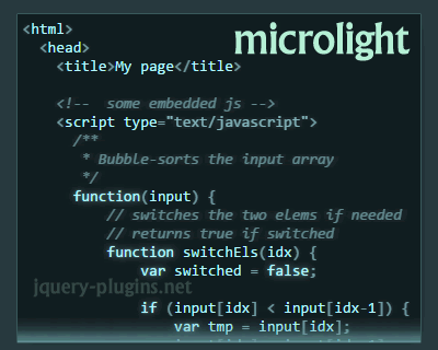 microlight.js_highlights_code_in_any_programming_language
