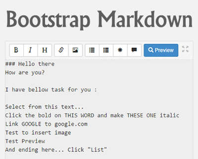 bootstrap_markdown_editor