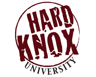 hard_knox_university_logo_design