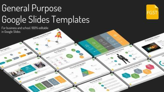 40 free google slide presentation templates ginva google slides general purpose template wajeb Gallery