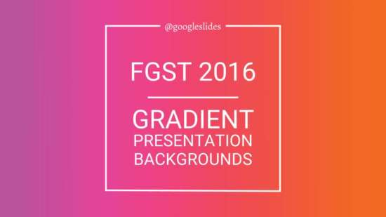 gradient backgrounds for google slides