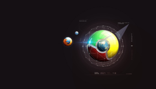 Mozilla Firefox & Google Chrome Wallpaper