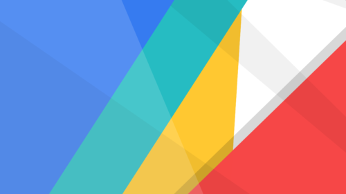 3840 x 2160 colorful google material