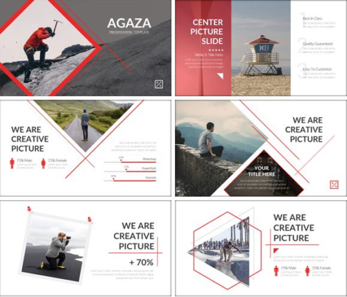 AGAZA Google Slides Templates