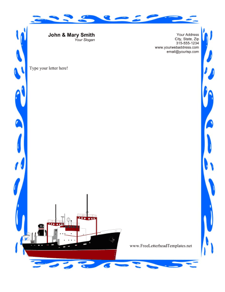 cruise_business_letterhead