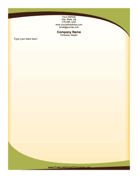sophisticated_green_letterhead