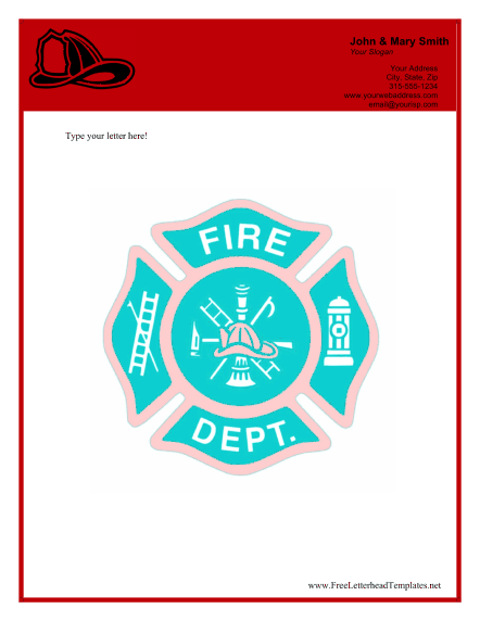 fire_department_business_letterhead