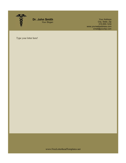 doctor_business_letterhead
