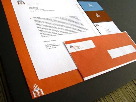 m_magazine_letterhead_design