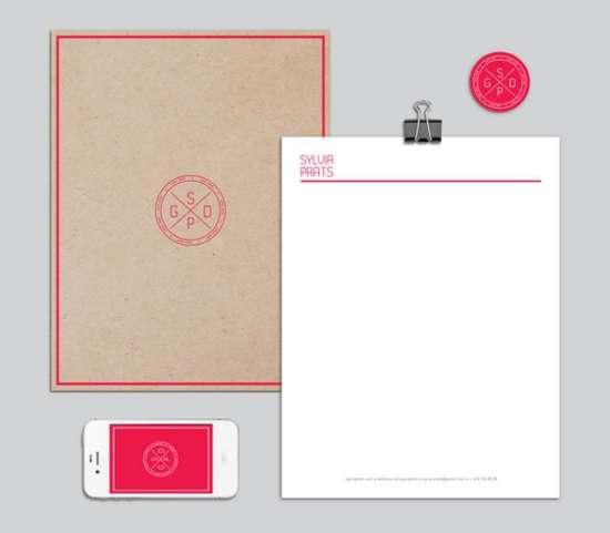 sylvia_letterhead_design