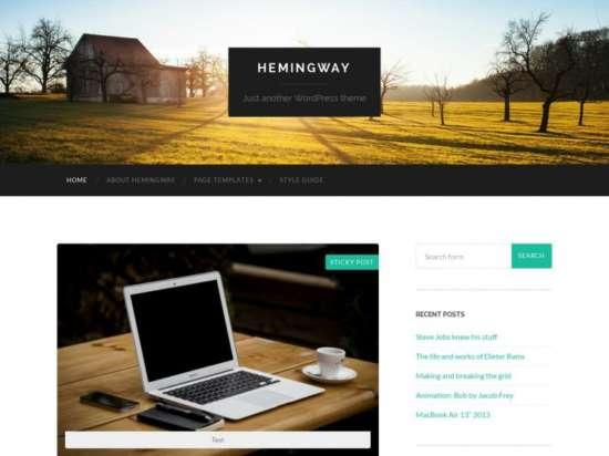 hemingway_parallax_theme