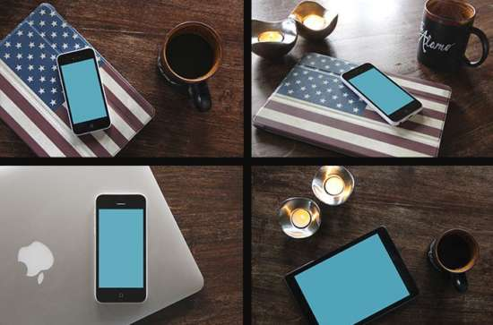 set_of_ipad_and_iphone_mockups