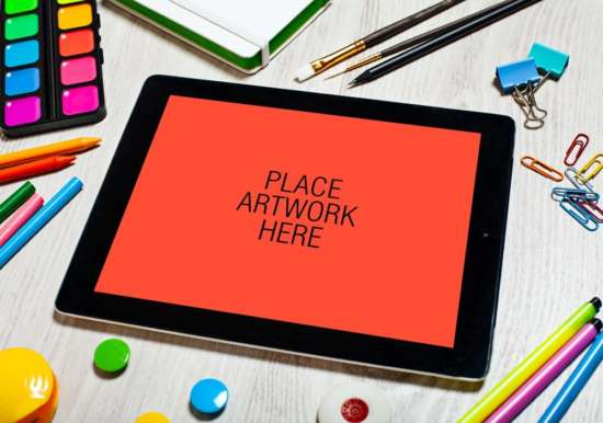 artistic_workspace_ipad_mockup